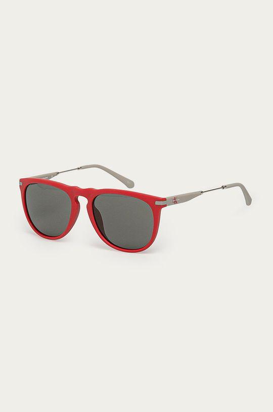 červená Calvin Klein Jeans - Sluneční brýle CKJ19700S Pánský