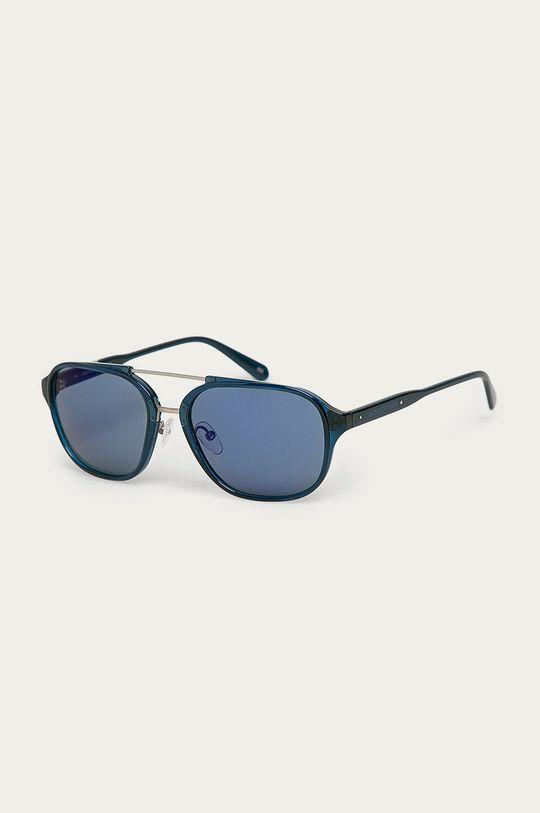 námořnická modř Calvin Klein Jeans - Sluneční brýle CKJ19517S Pánský
