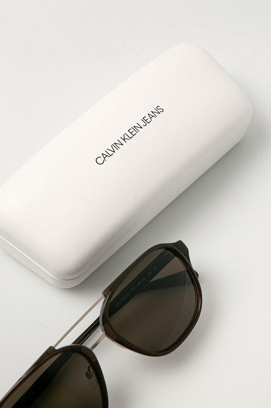 Calvin Klein Jeans - Sluneční brýle CKJ19517S  Umělá hmota, Kov