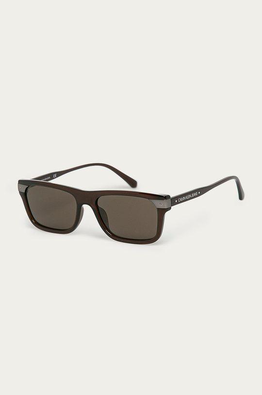 tmavohnedá Calvin Klein Jeans - Slnečné okuliare CKJ20504S Pánsky
