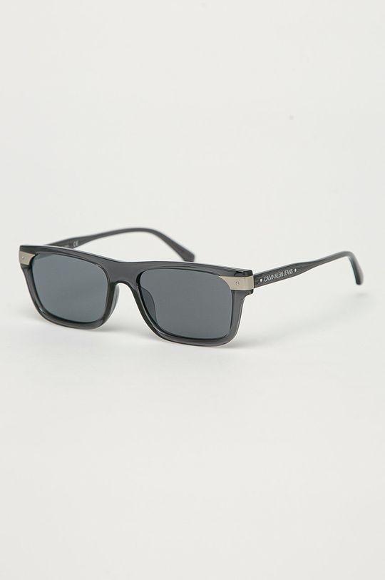černá Calvin Klein Jeans - Sluneční brýle CKJ20504S Pánský