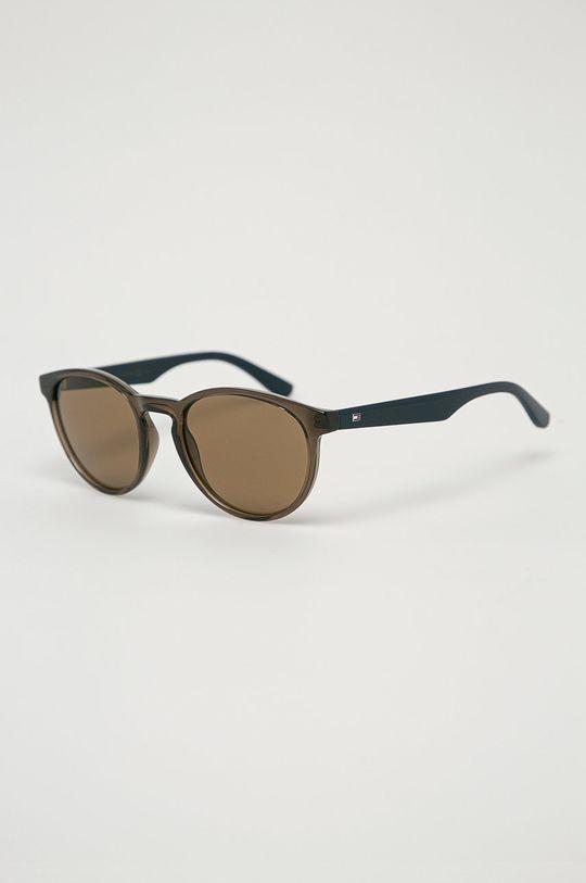 olivová Tommy Hilfiger - Sluneční brýle Pánský