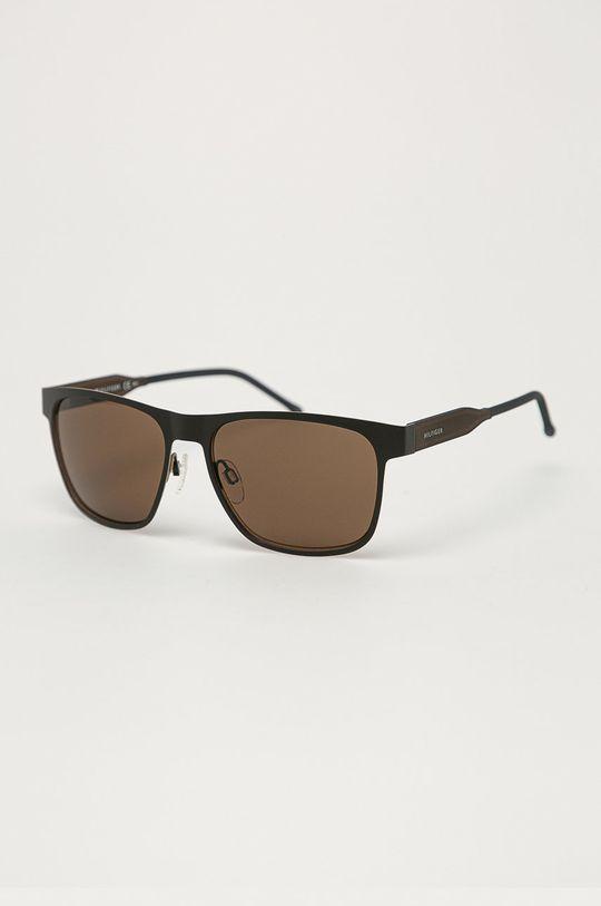 kávová Tommy Hilfiger - Slnečné okuliare Pánsky