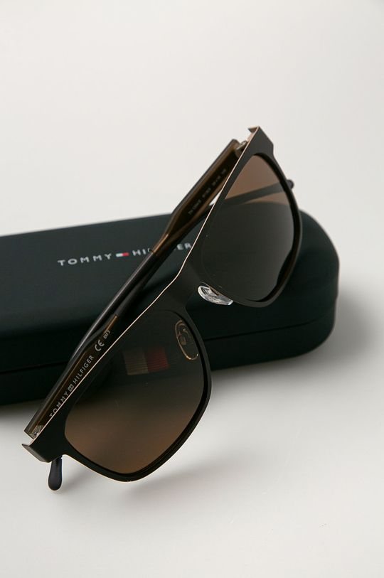 Tommy Hilfiger - Slnečné okuliare  Syntetická látka, Kov
