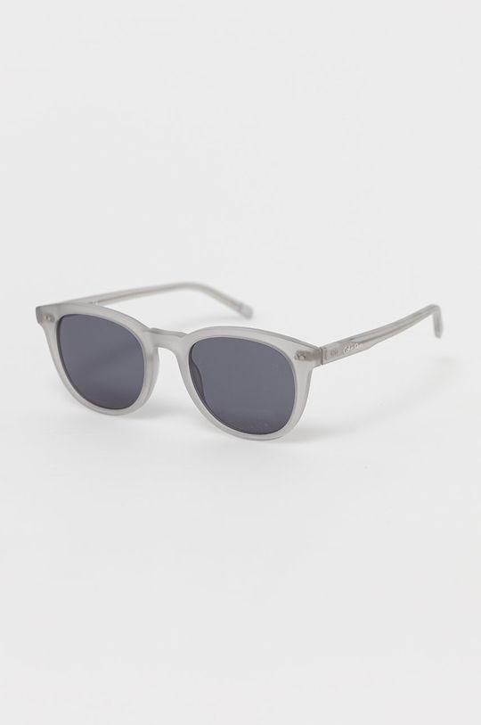 szary Calvin Klein - Okulary przeciwsłoneczne CK4358S.035 Męski