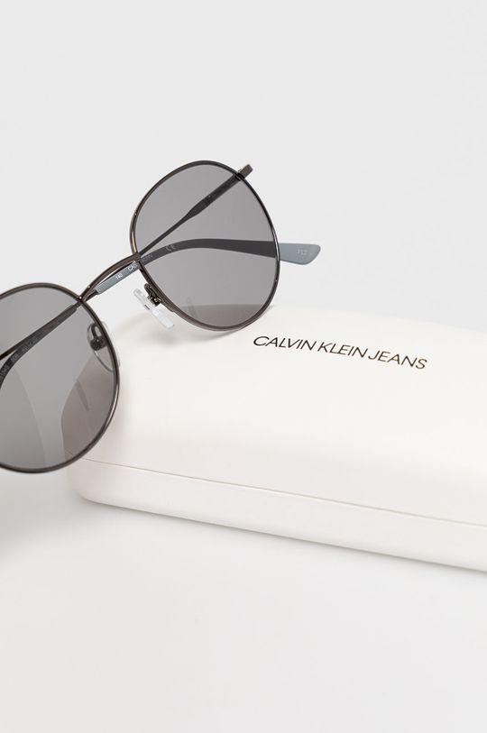 Calvin Klein - Okulary przeciwsłoneczne CK18104S Materiał syntetyczny, Metal