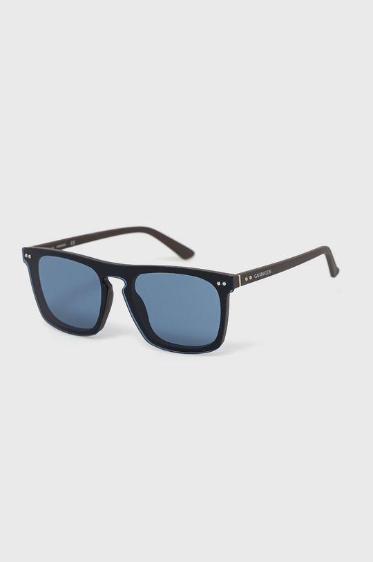 czarny Calvin Klein - Okulary przeciwsłoneczne CK19501S.405 Męski