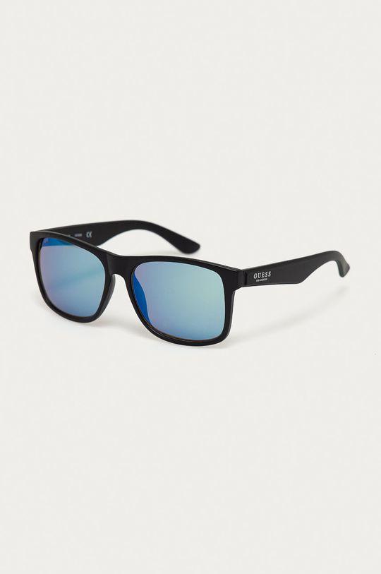 černá Guess - Sluneční brýle GF0203 02X Pánský