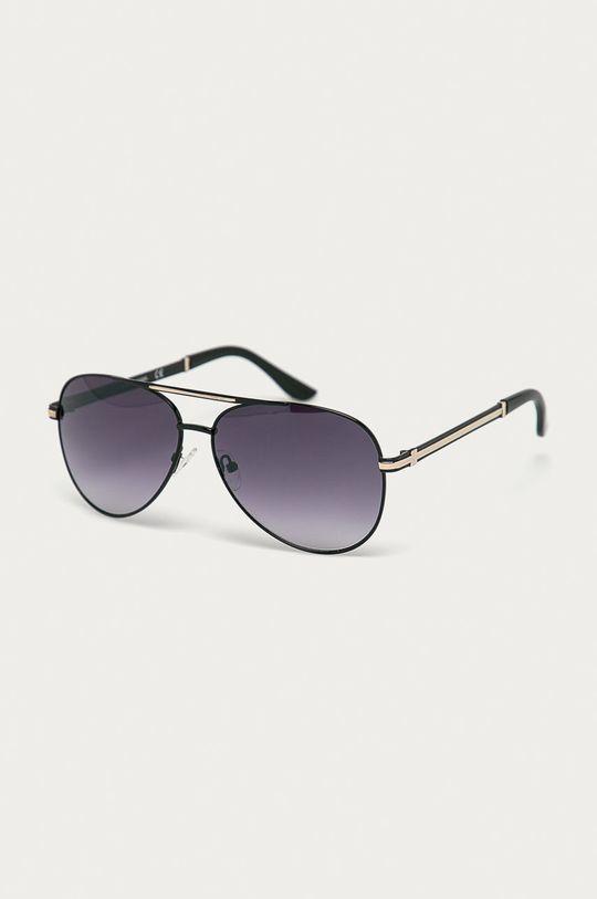 černá Guess - Sluneční brýle GF0173 Pánský