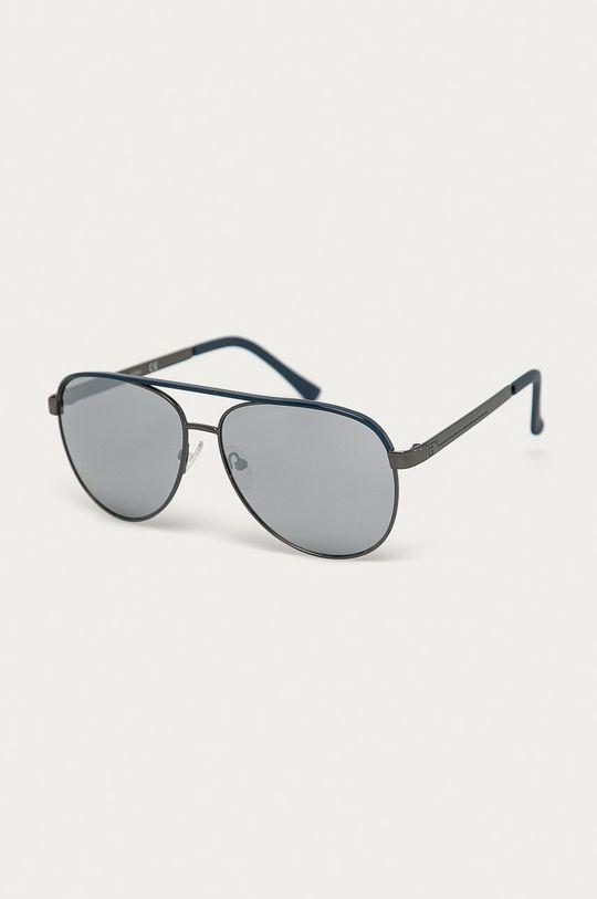 grafitowy Guess - Okulary przeciwsłoneczne GF0172 Męski