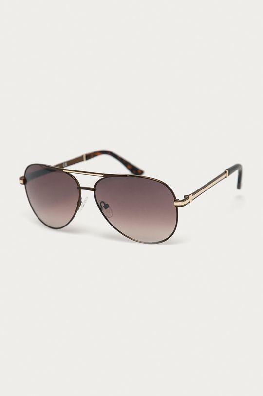 hnědá Guess - Sluneční brýle GF0173 Pánský