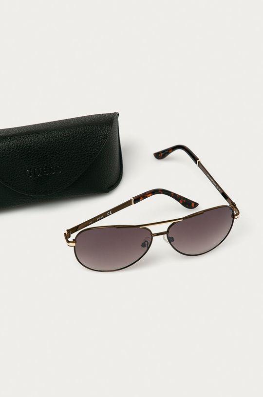 hnědá Guess - Sluneční brýle GF0173