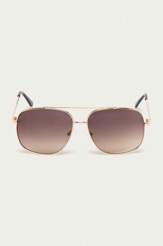 złoty Guess - Okulary GF0207.32F Męski
