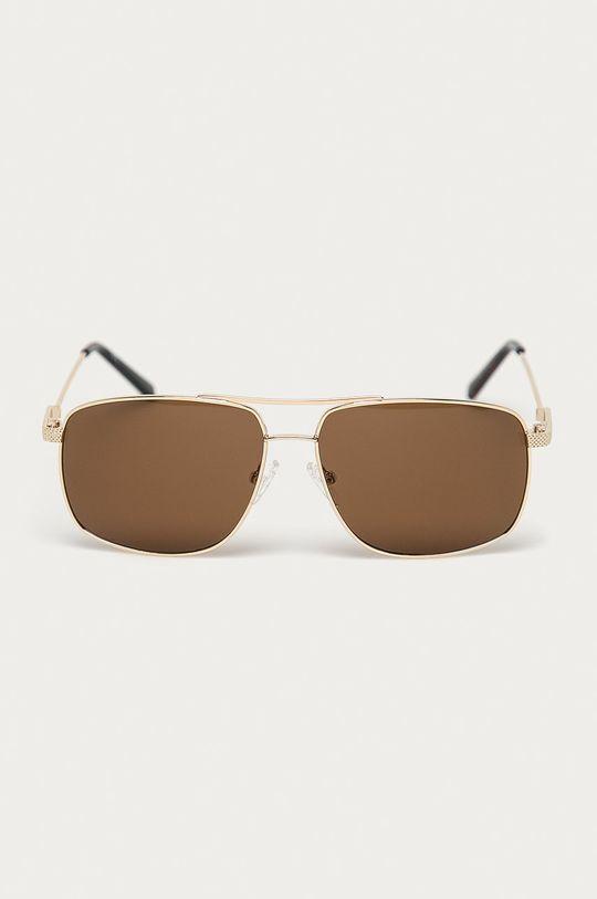 Guess - Sluneční brýle GF0205 stříbrná