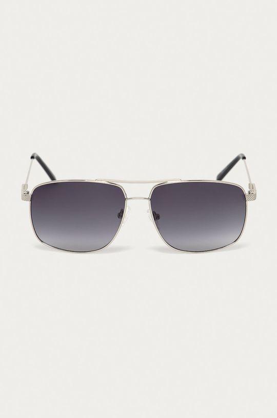 Guess - Sluneční brýle stříbrná