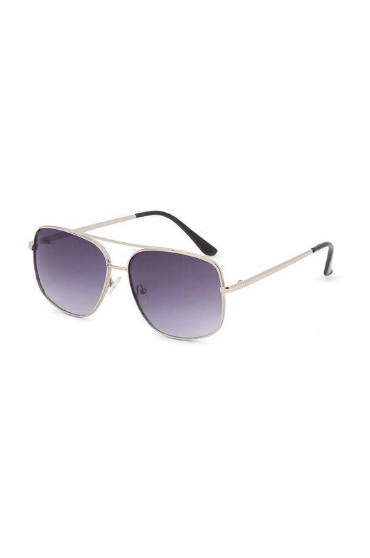 stříbrná Guess - Sluneční brýle GF0207 Pánský
