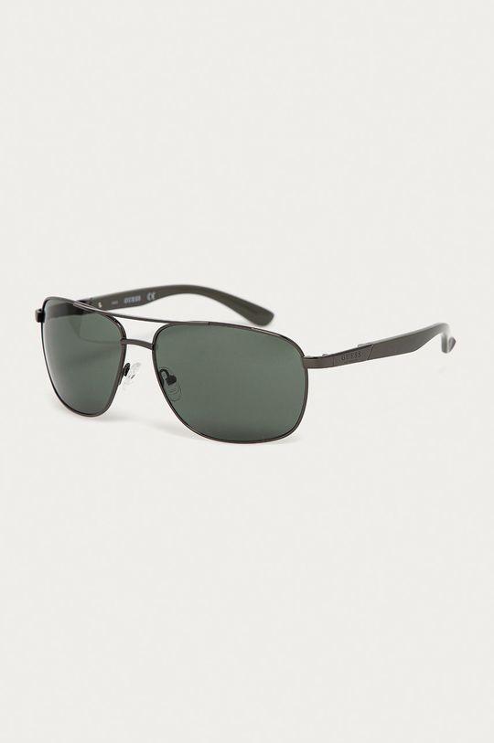 černá Guess - Sluneční brýle GF0212 08N Pánský
