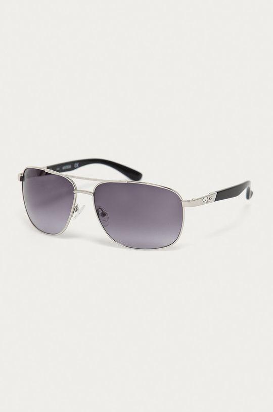 stříbrná Guess - Sluneční brýle GF0212 10B Pánský