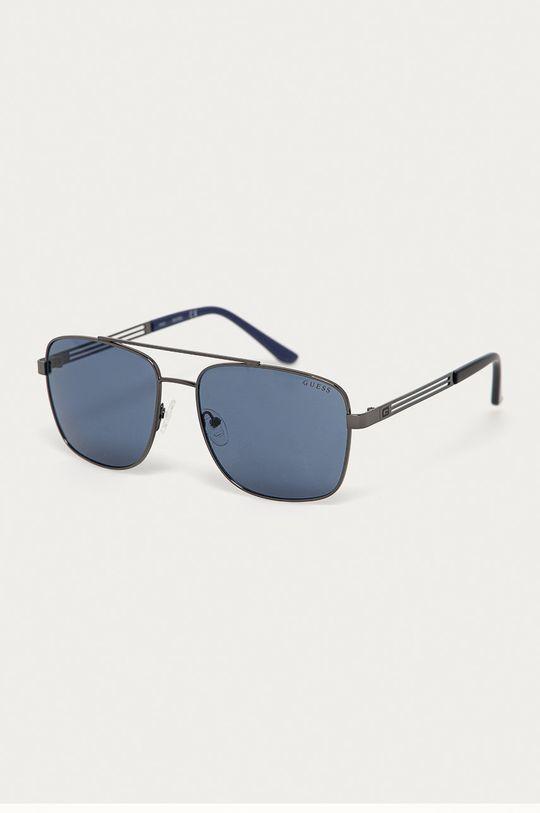 grafitová Guess - Sluneční brýle GF0206 08V Pánský