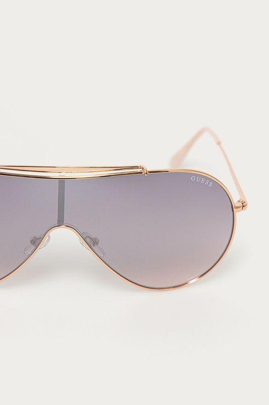 Guess - Sluneční brýle zlatá