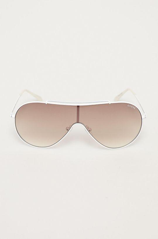 Guess - Sluneční brýle bílá