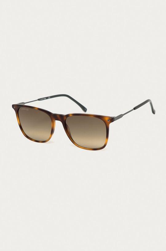 hnedá Lacoste - Slnečné okuliare L870S 214 Pánsky