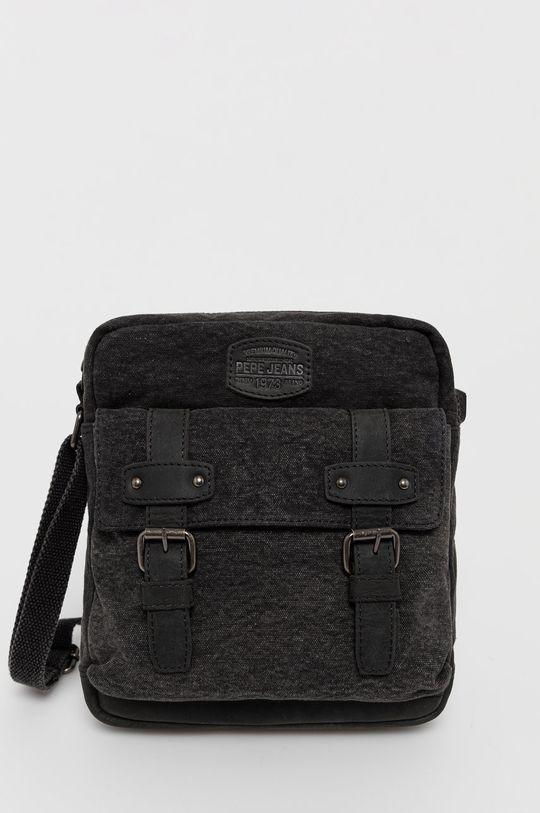 čierna Pepe Jeans - Malá taška Pánsky