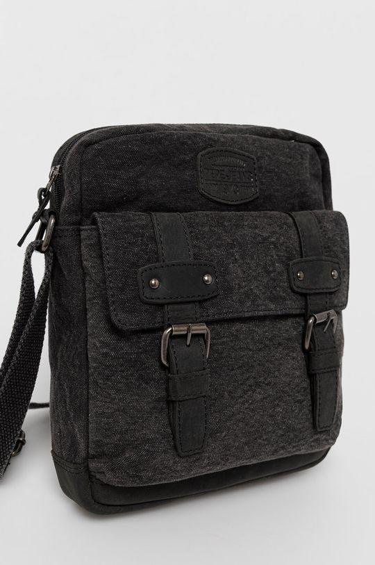 Pepe Jeans - Malá taška  Podšívka: 100% Polyester Základná látka: 70% Bavlna, 30% Prírodná koža