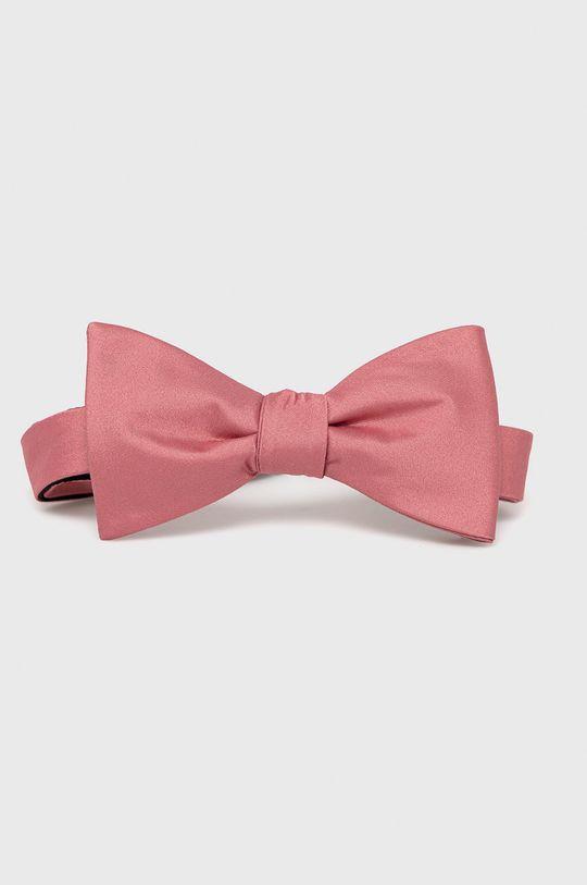różowy Selected - Krawat Męski