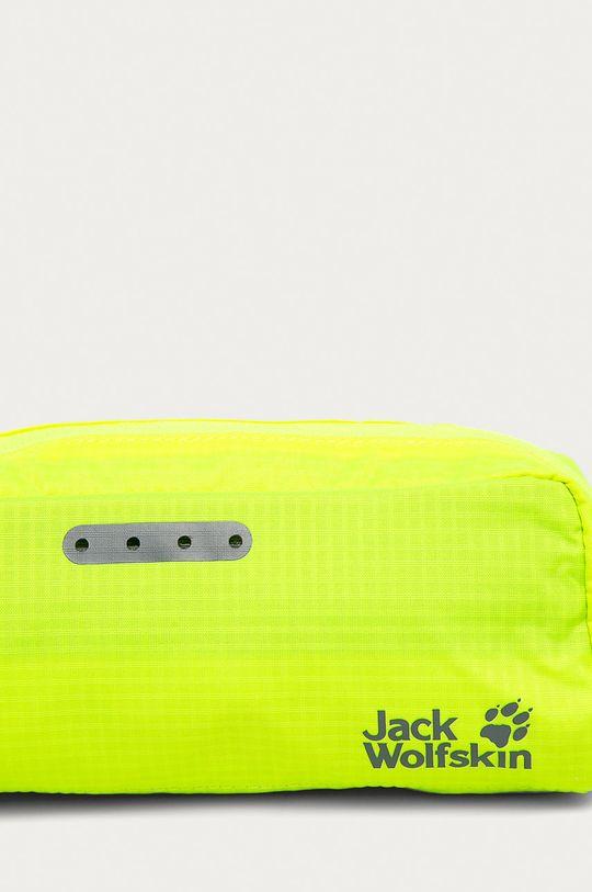 Jack Wolfskin - Kosmetyczka jasny żółty