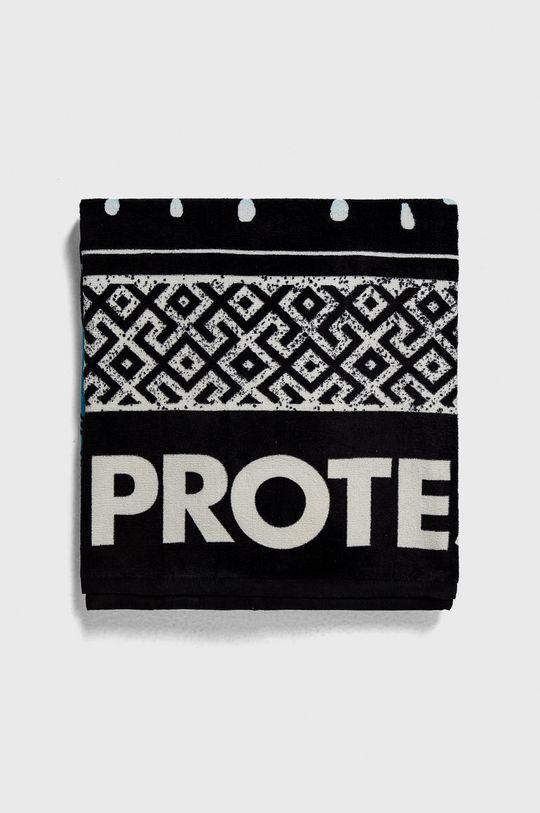 Protest - Ręcznik czarny