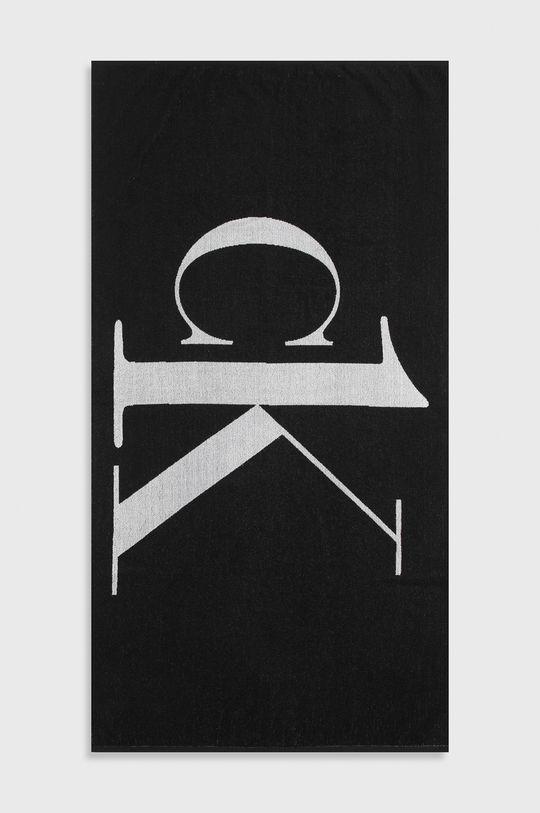 czarny Calvin Klein - Ręcznik Unisex
