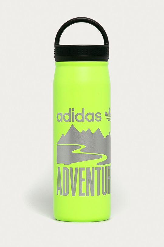żółto - zielony adidas Originals - Bidon 800 ml Unisex