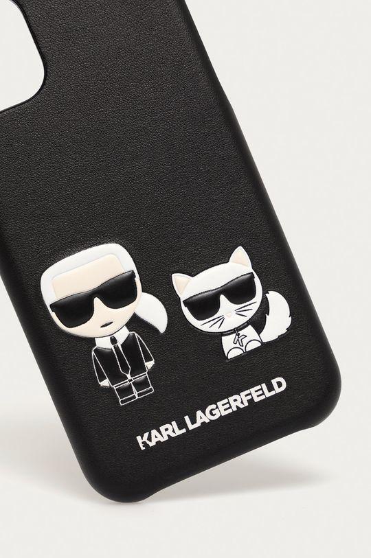 Karl Lagerfeld - Etui na telefon iPhone 12 mini czarny