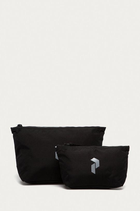 černá Peak Performance - Kosmetická taška (2-pack) Unisex