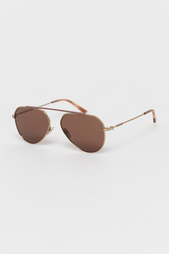 brązowy Calvin Klein - Okulary przeciwsłoneczne CK19147S Unisex
