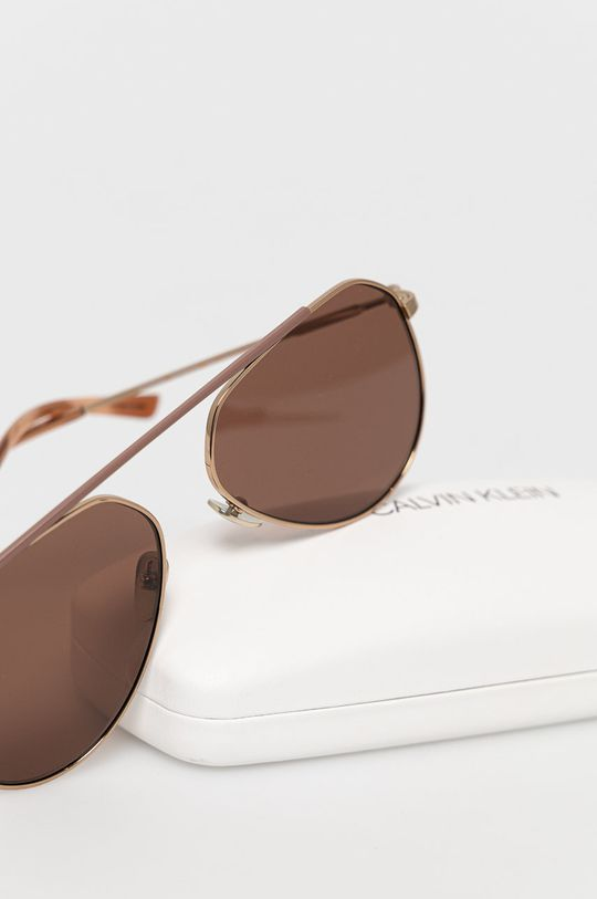 Calvin Klein - Okulary przeciwsłoneczne CK19147S Materiał syntetyczny, Metal