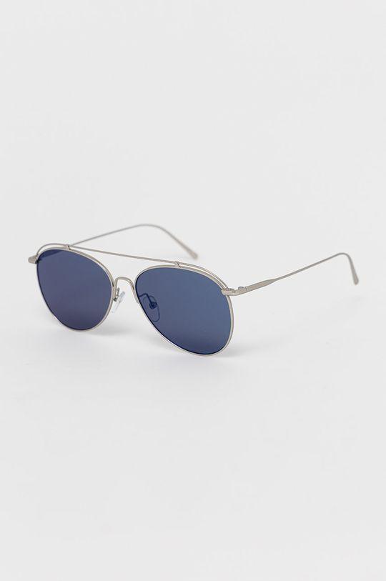 srebrny Calvin Klein - Okulary przeciwsłoneczne Unisex