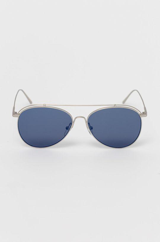 Calvin Klein - Okulary przeciwsłoneczne srebrny