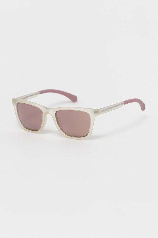 biały Calvin Klein Jeans - Okulary przeciwsłoneczne CKJ814S.000 Unisex