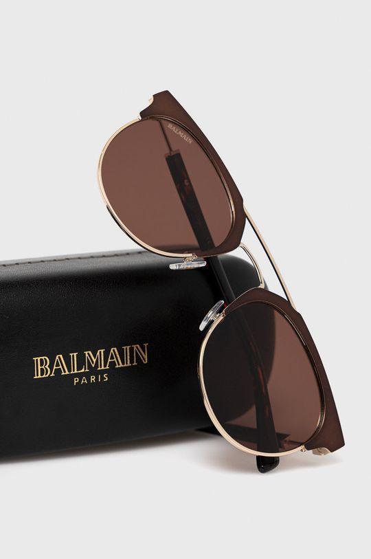 Balmain - Okulary BL2109B Materiał syntetyczny, Metal