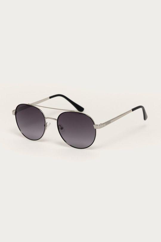 strieborná Guess - Slnečné okuliare GF0367 Unisex