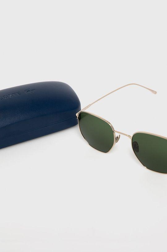 srebrny Lacoste - Okulary przeciwsłoneczne L206SPC 39624