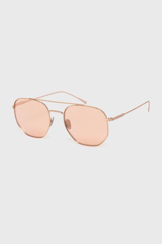 złoty Lacoste - Okulary przeciwsłoneczne Unisex