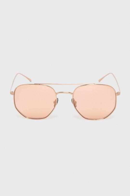 Lacoste - Okulary przeciwsłoneczne złoty