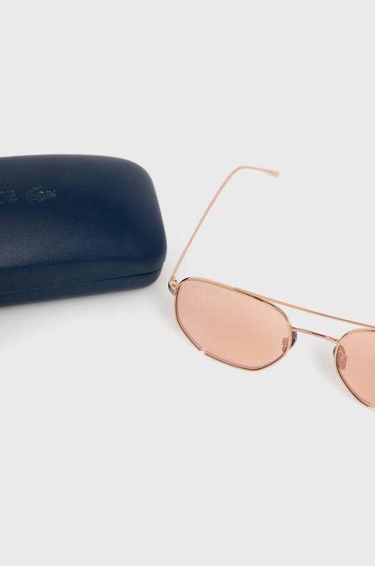 złoty Lacoste - Okulary przeciwsłoneczne
