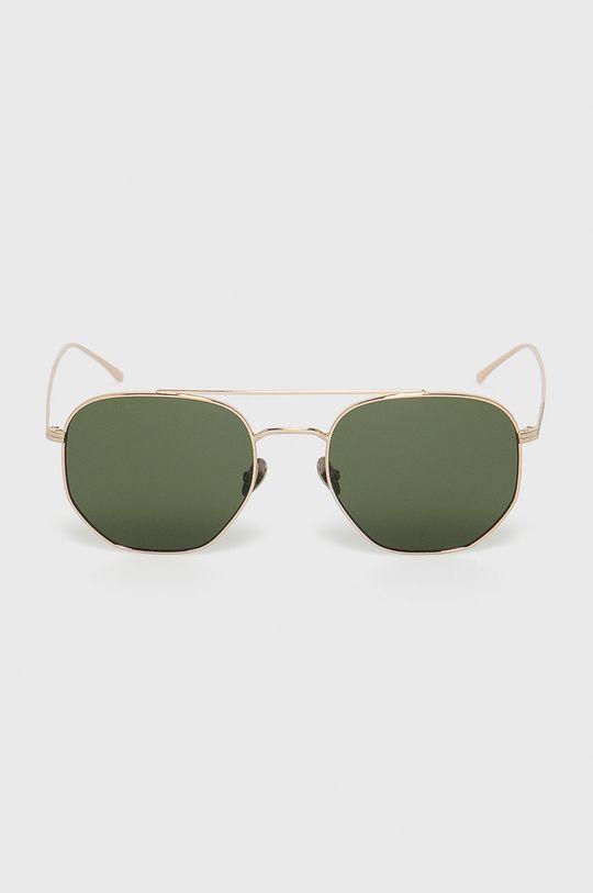 Lacoste - Slnečné okuliare zlatá