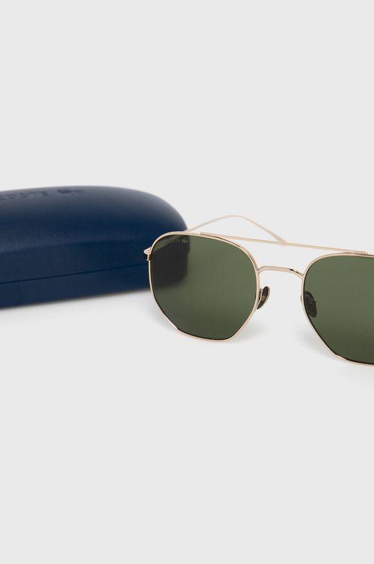 zlatá Lacoste - Slnečné okuliare