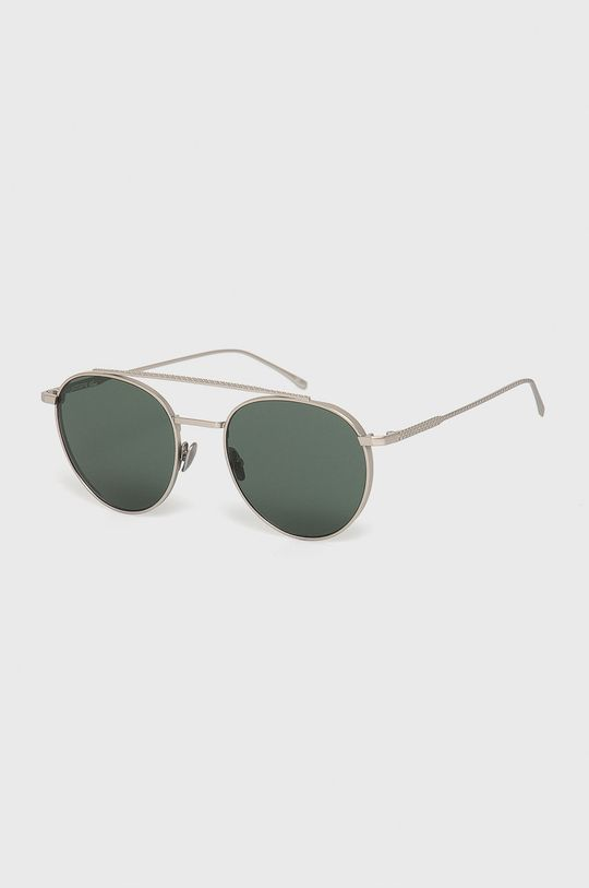 srebrny Lacoste - Okulary przeciwsłoneczne Unisex