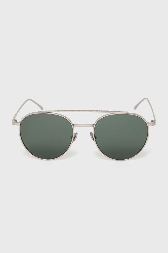 Lacoste - Okulary przeciwsłoneczne srebrny
